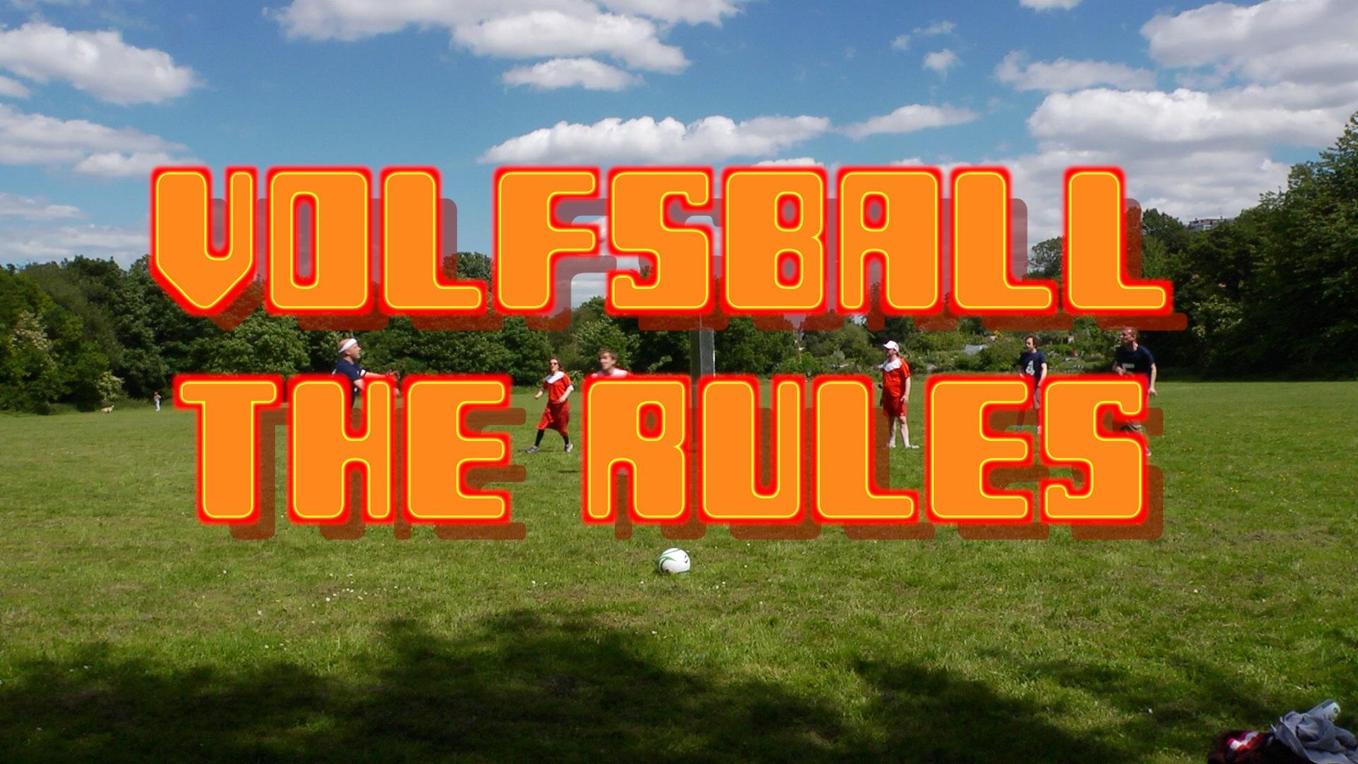 Volfsball Rules Photo