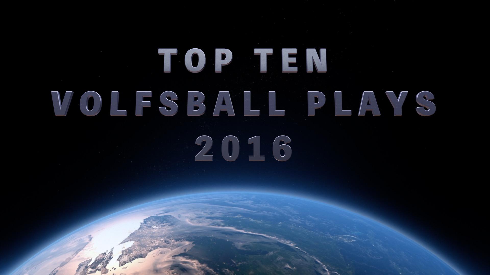 Top Ten Plays 2016